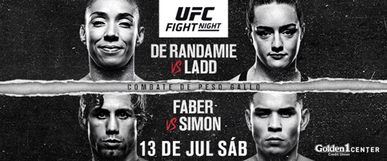Todo listo para UFC Sacramento: De Randamie vs. Ladd 7