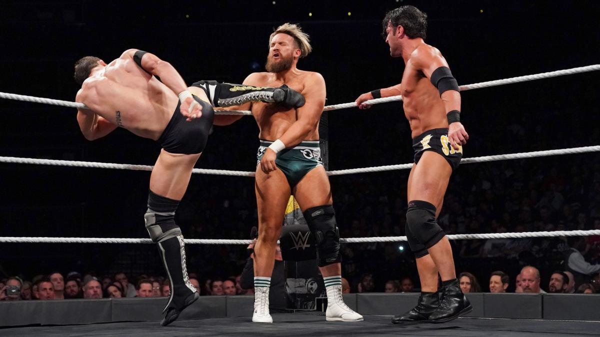 Los luchadores que participaron una sola vez en NXT TakeOver 10