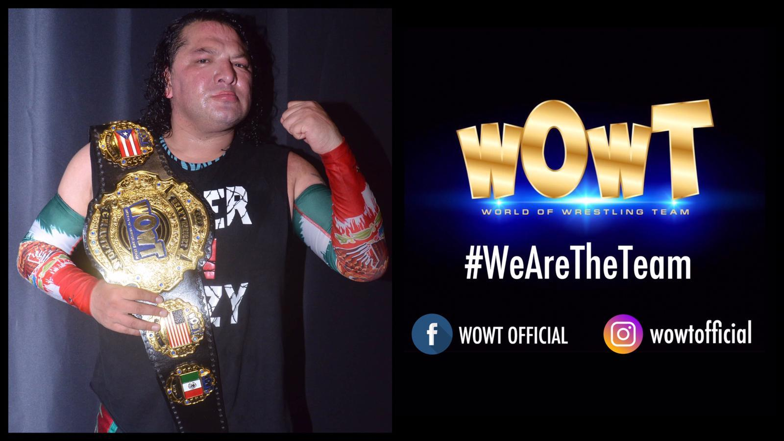 ¡Super Crazy nuevo campeón peso completo de WOWT de Chicago! 1