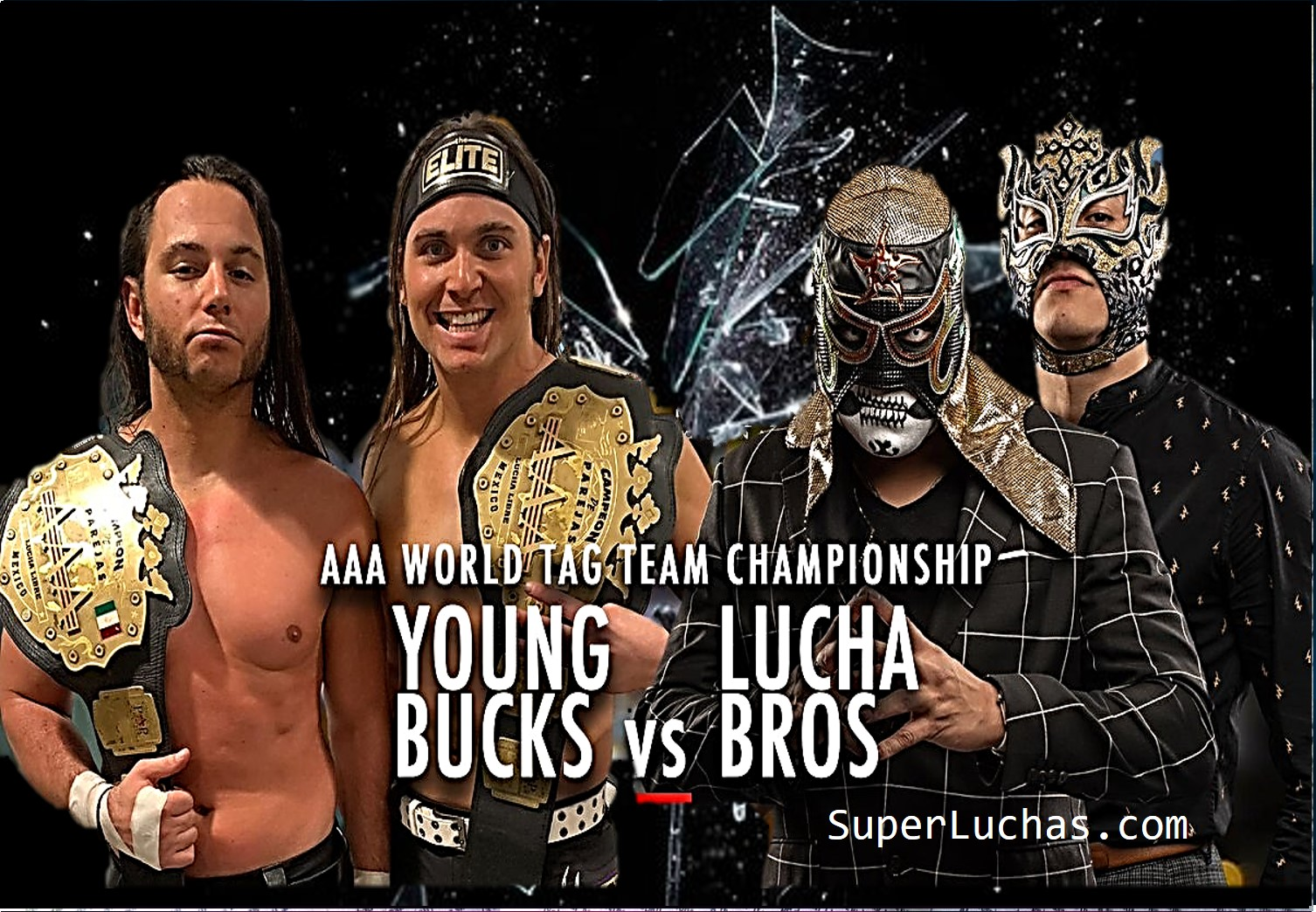 AAA: Young Bucks lanzan desafío a Lucha Brothers (video) 1