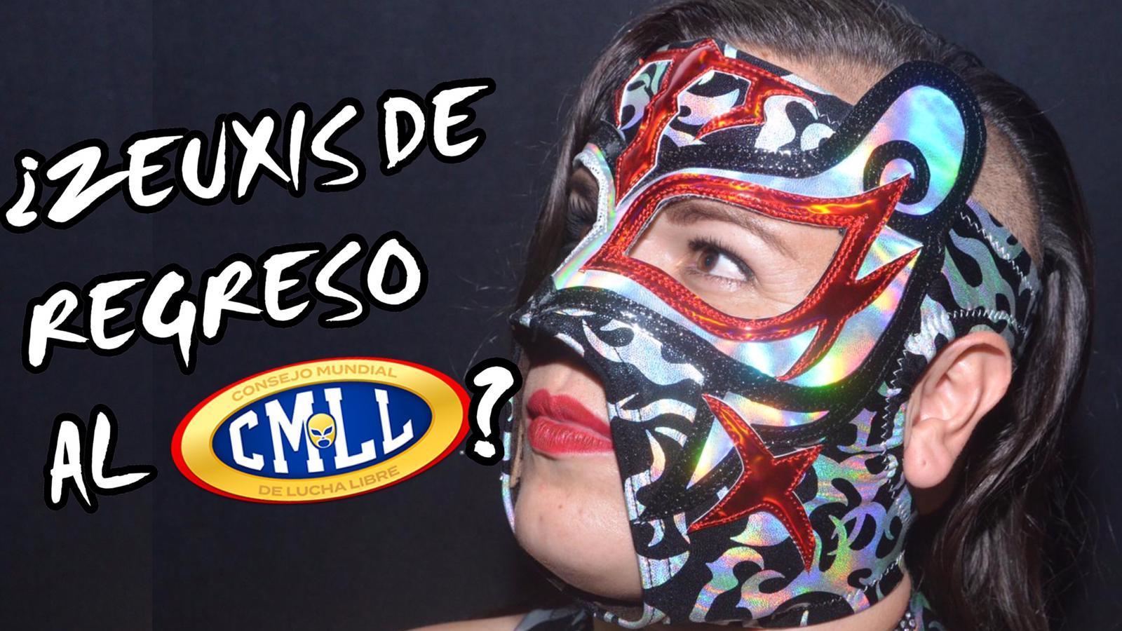 ¿Zeuxis de regreso al CMLL? 1