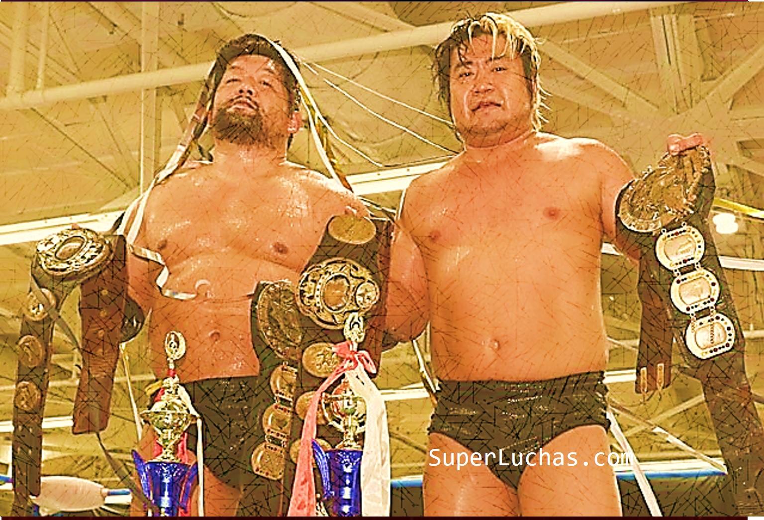 """AJPW: """"Super Power Series 2019"""" Violent Giants mantiene su título 1"""
