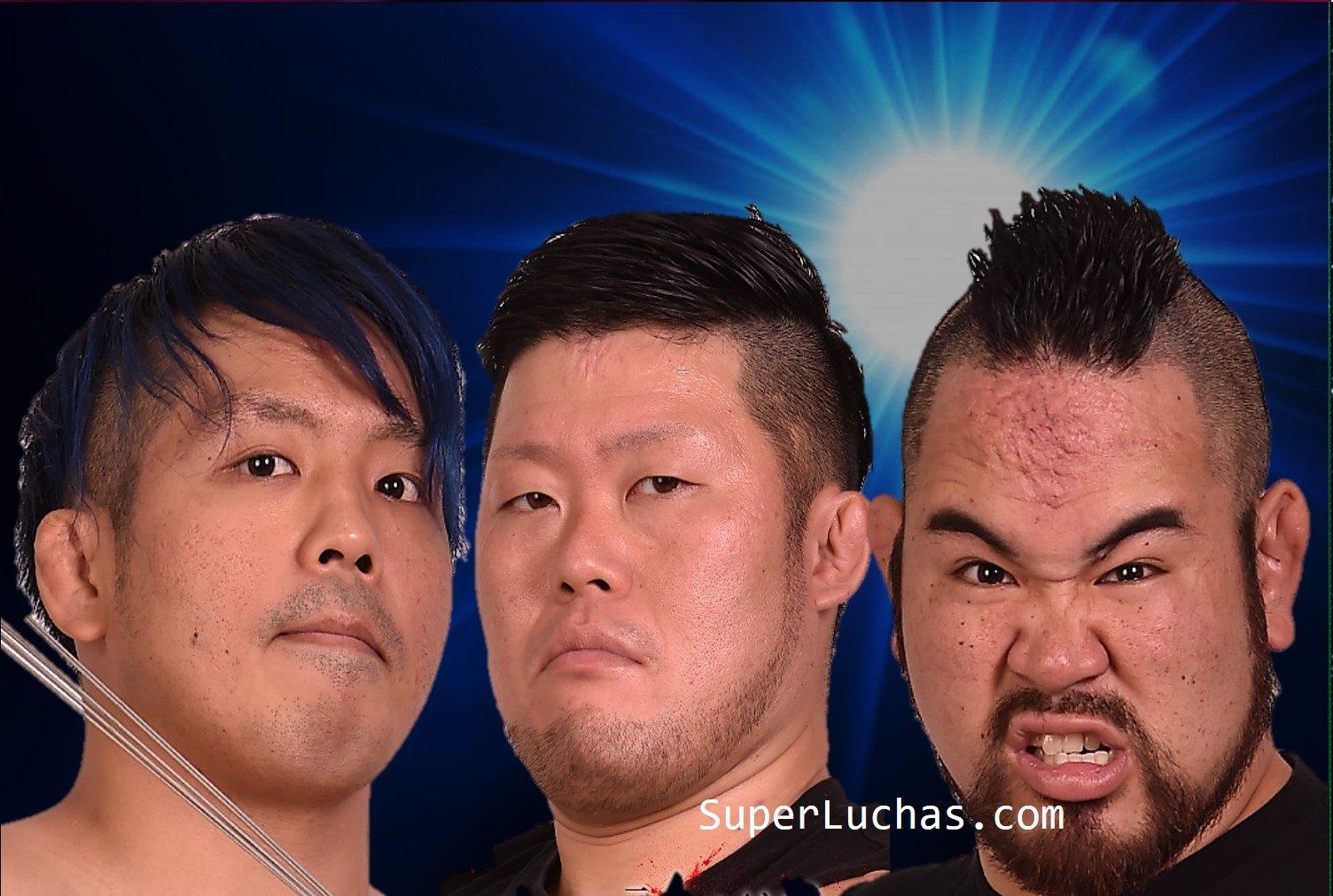 BJW: El Campeonato de tercias de Yokohama se expuso 3 veces 15