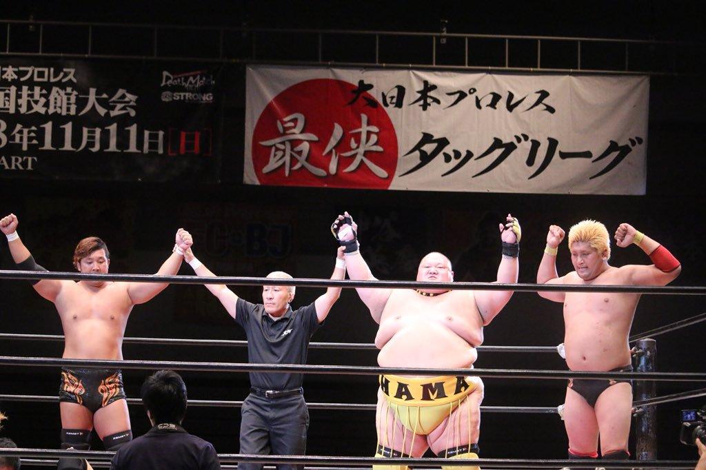 """BJW: """"Takamatsu Death Island 2019"""" Defensa del título de parejas 4"""