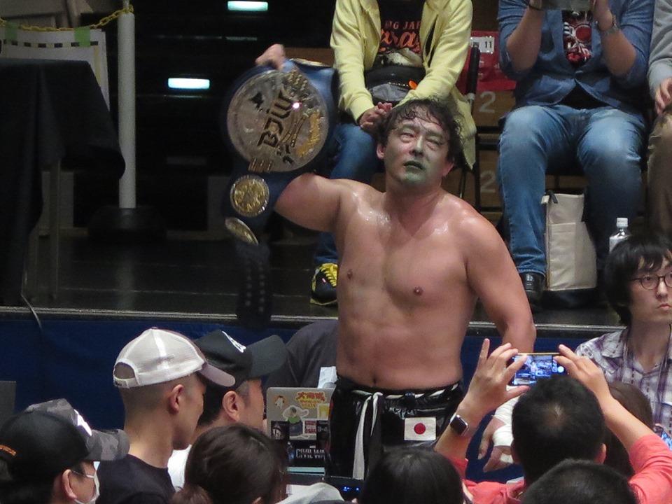 BJW: TAJIRI defiende su cinturón en el Korakuen Hall 7
