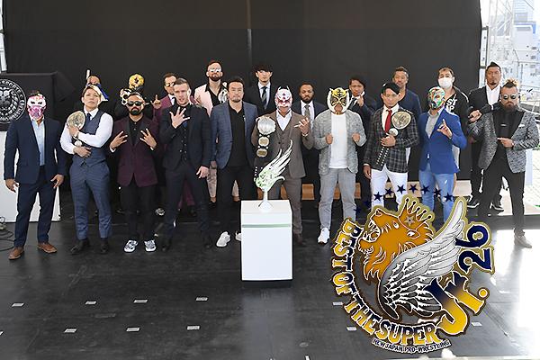 """NJPW: Presentación oficial del """"Best of the Super Jr. 26"""" 40"""