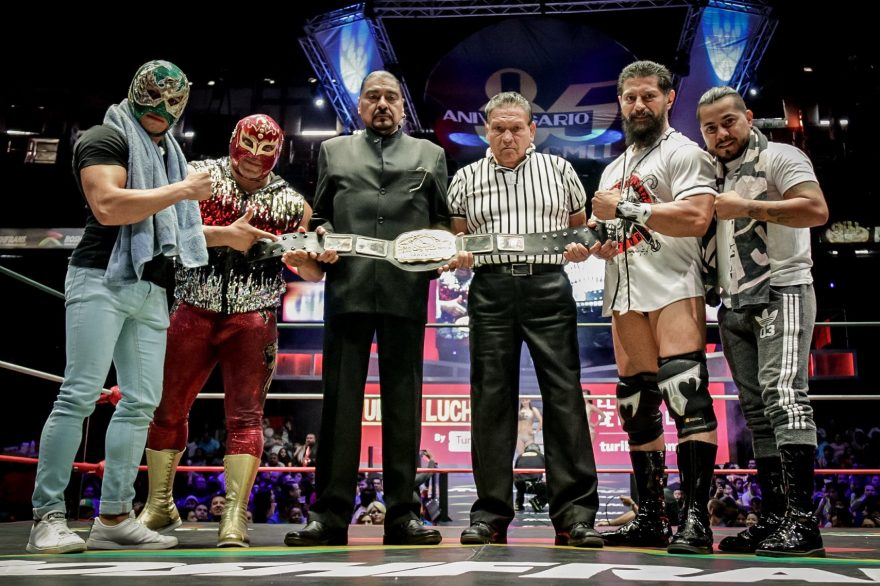 CMLL: Terrible defiende su cinturón con fiereza en Domingo Familiar 31