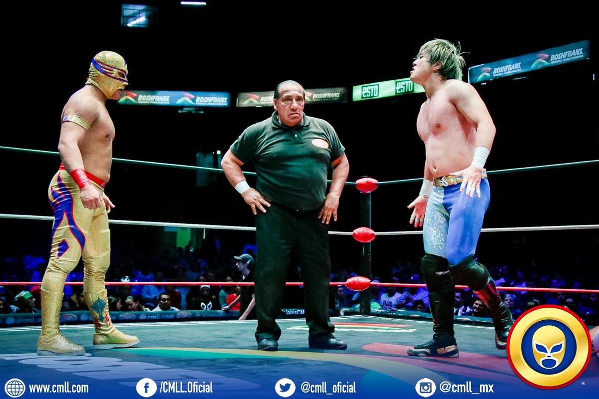 CMLL: Inició la batalla por el Campeonato Mundial Súper Ligero 65