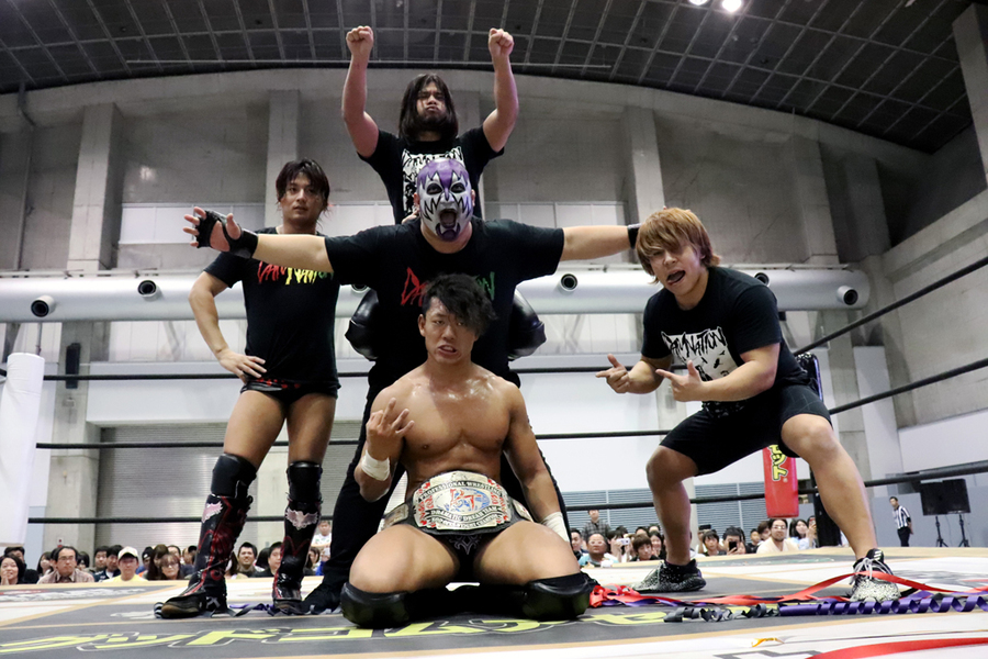 "DDT: ""Wrestle Matsuyamania 2019"" Tetsuya Endo defiende su cinturón 84"