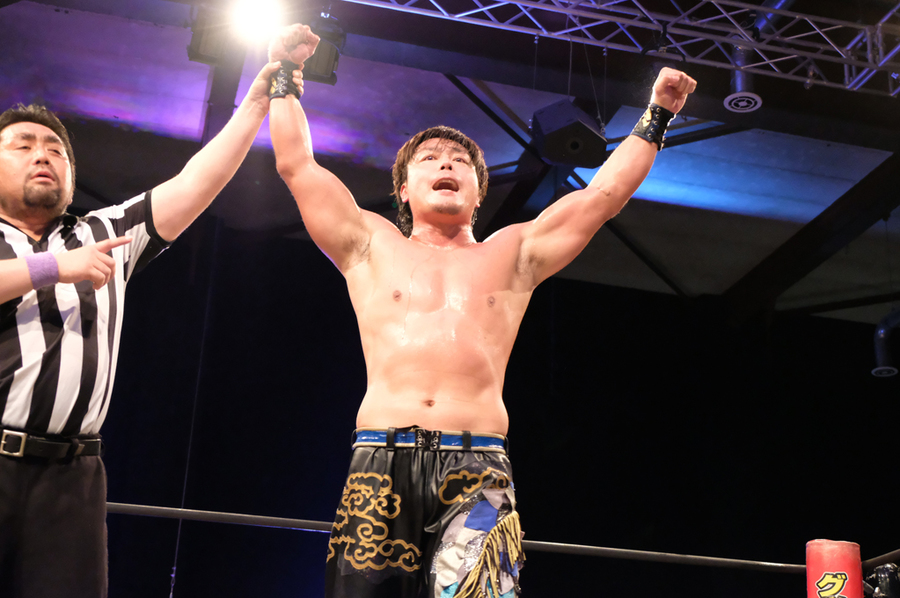 "DDT: ""King of DDT 2019"" Round 2 HARASHIMA revive 47"