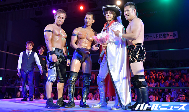 "Dragon Gate: ""Rainbow Gate 2019"" Reaparece Anthony W. Mori 8"