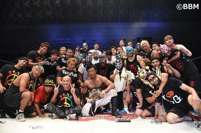 """Dragon Gate:""""Kobe PW Festival 2019"""" PAC cae y Ben-K cobra venganza 6"""