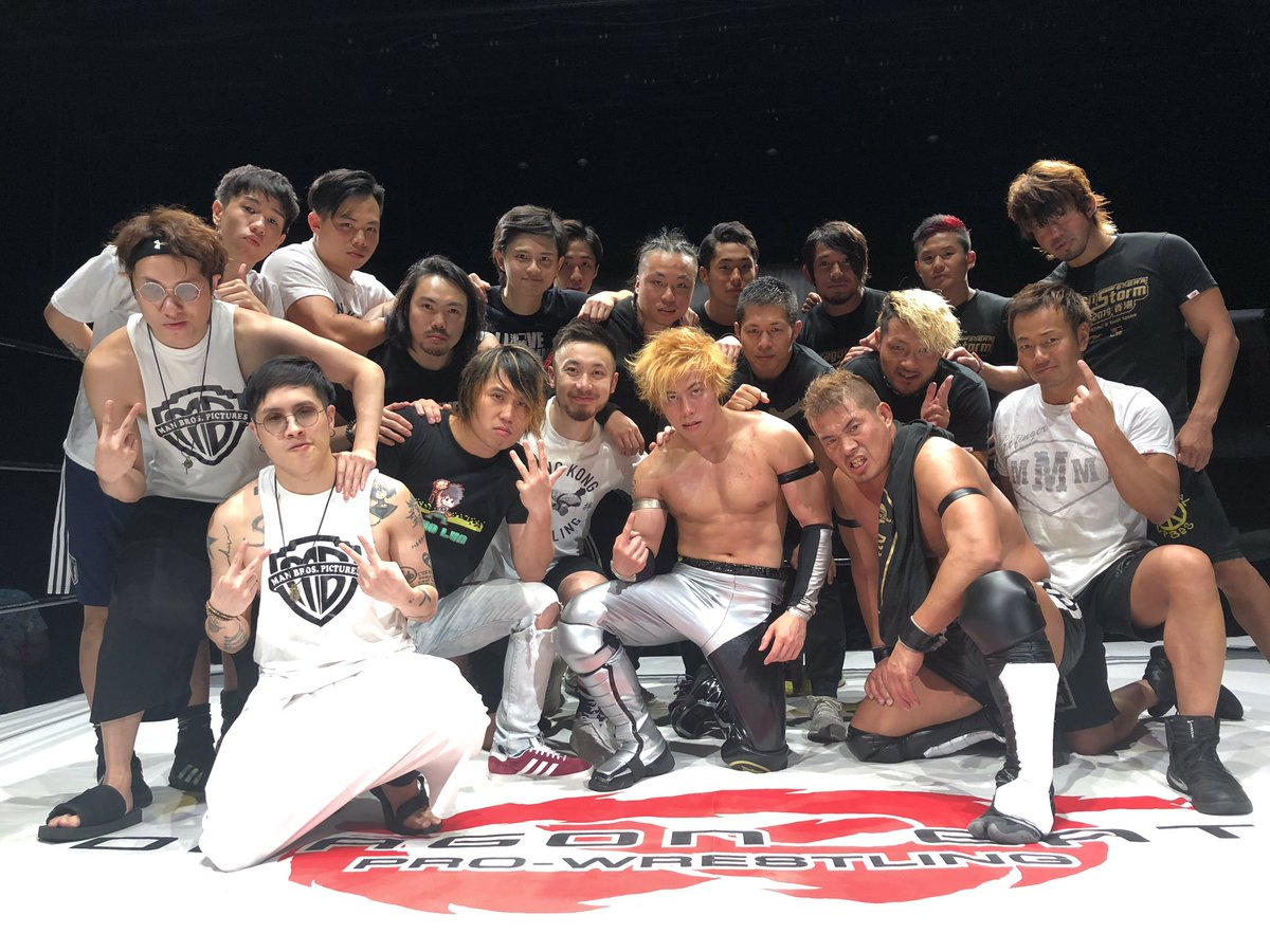 "Dragon Gate: ""Dragon Storm in Spring 2019"" Visita a Hong Kong 1"
