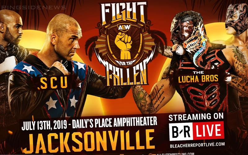 Lucha nunca antes vista anunciada para Fight for the Fallen