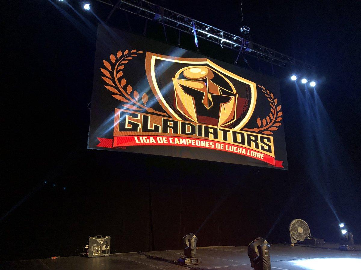 Iniciaron las acciones en Gladiators, en el Frontón México 11