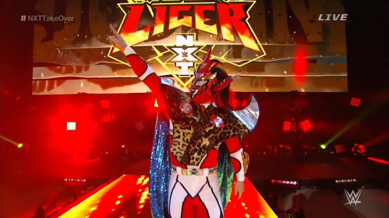 Los luchadores que participaron una sola vez en NXT TakeOver 5