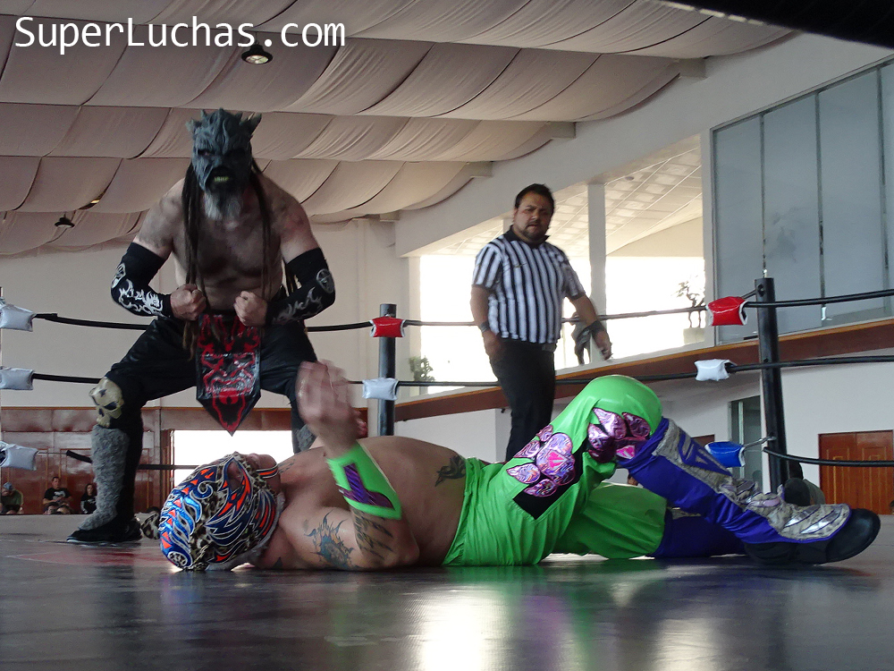 Resultados Lucha and Combat Fest 2019- Mexitosos y Villano IV grandes triunfadores de la tarde 4