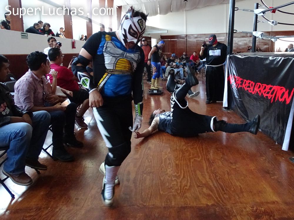 Resultados Lucha and Combat Fest 2019- Mexitosos y Villano IV grandes triunfadores de la tarde 6