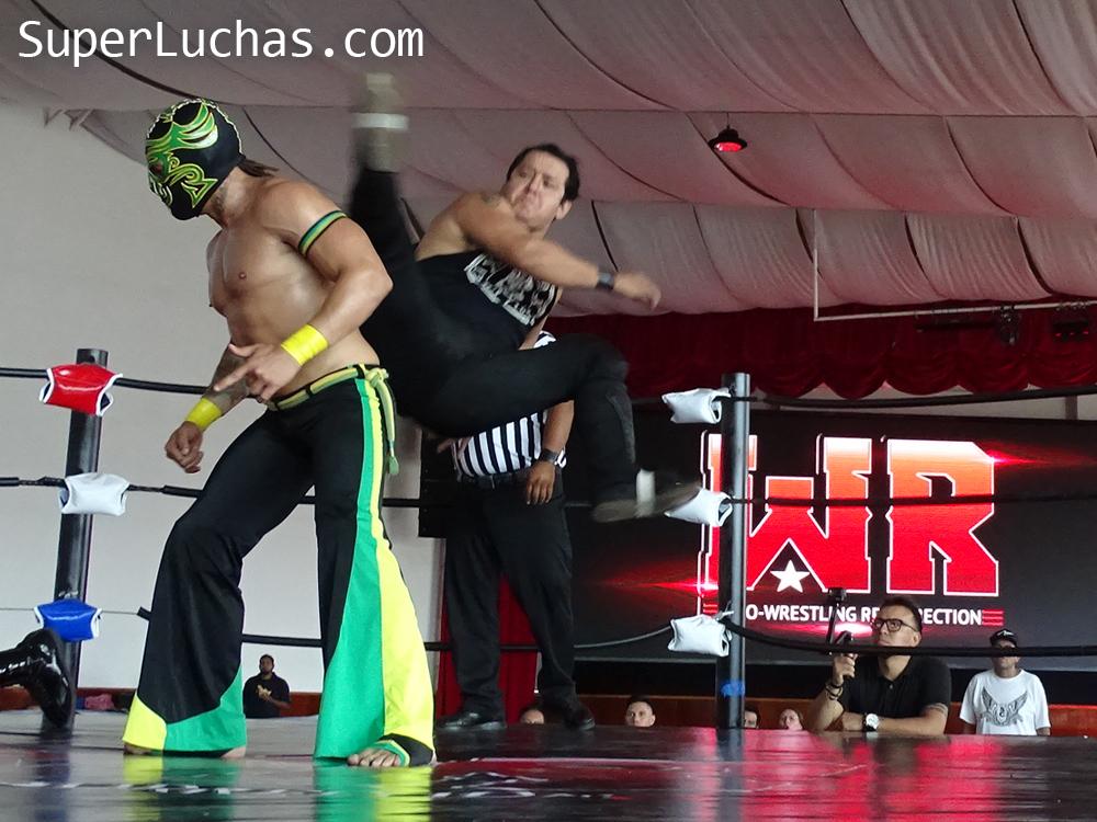 Resultados Lucha and Combat Fest 2019- Mexitosos y Villano IV grandes triunfadores de la tarde 9