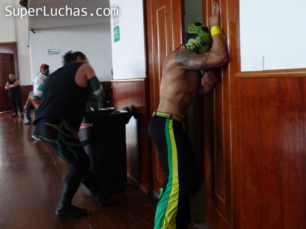 Resultados Lucha and Combat Fest 2019- Mexitosos y Villano IV grandes triunfadores de la tarde 13
