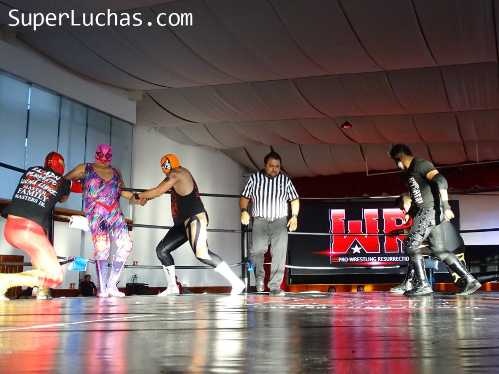 Resultados Lucha and Combat Fest 2019- Mexitosos y Villano IV grandes triunfadores de la tarde 25