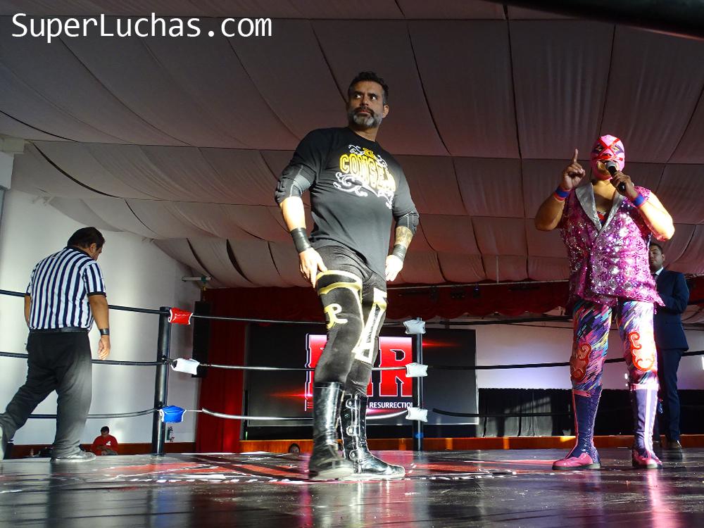 Resultados Lucha and Combat Fest 2019- Mexitosos y Villano IV grandes triunfadores de la tarde 24