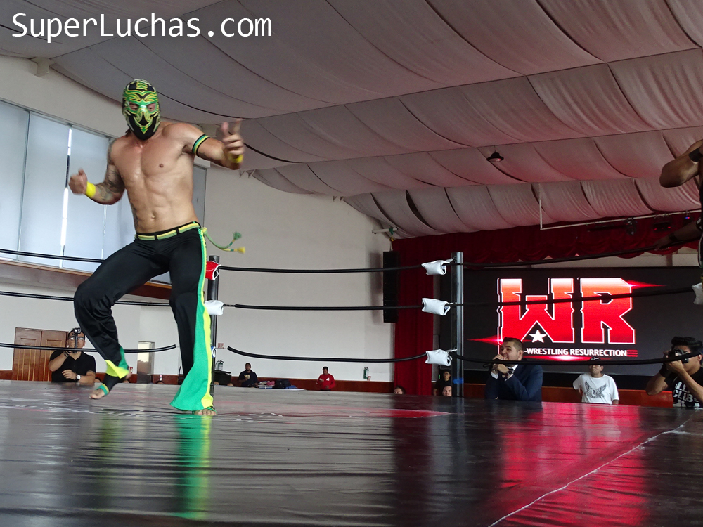 Pro-Wrestling Resurrection estrena sede en Atizapán 1