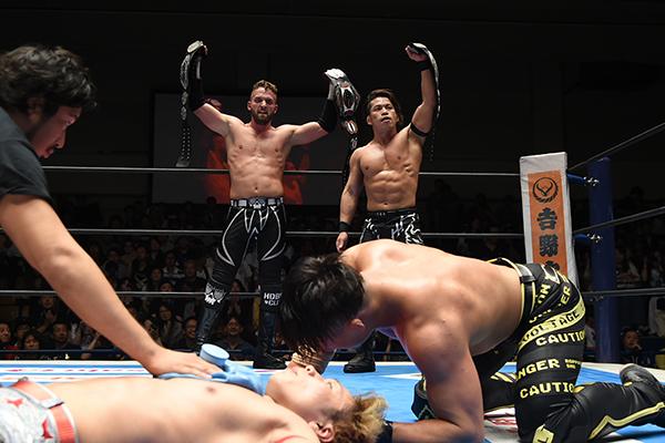 """NJPW: """"Kizuna Road 2019"""" Nuevos campeones Jr. de parejas 17"""