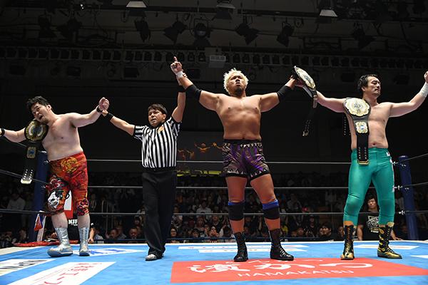 """NJPW: """"Kizuna Road 2019"""" Defensa del título de tercias NEVER 5"""