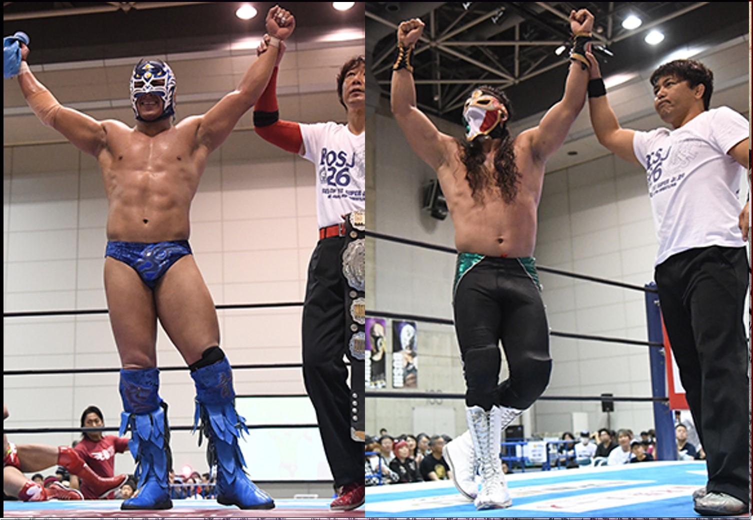 """NJPW: """"Best of the Super Jr. 26"""" Días 5 y 6 Dragon Lee y Bandido suman 1"""