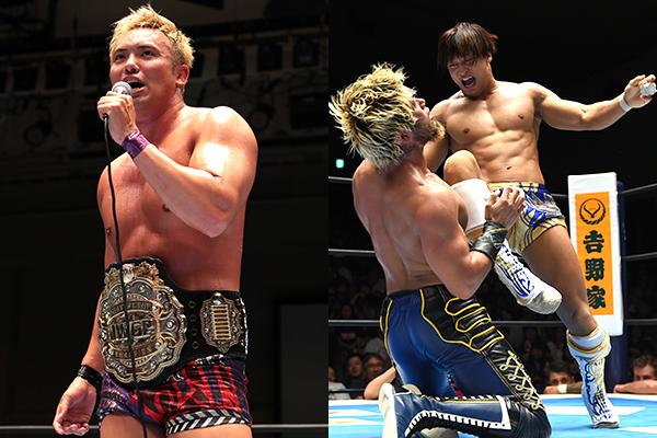 """NJPW: """"G1 Climax 29"""" Día 7 Okada y KENTA se mantienen como líderes 8"""