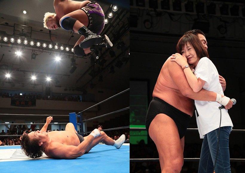 Riki Choshu se despidió de la lucha libre 3