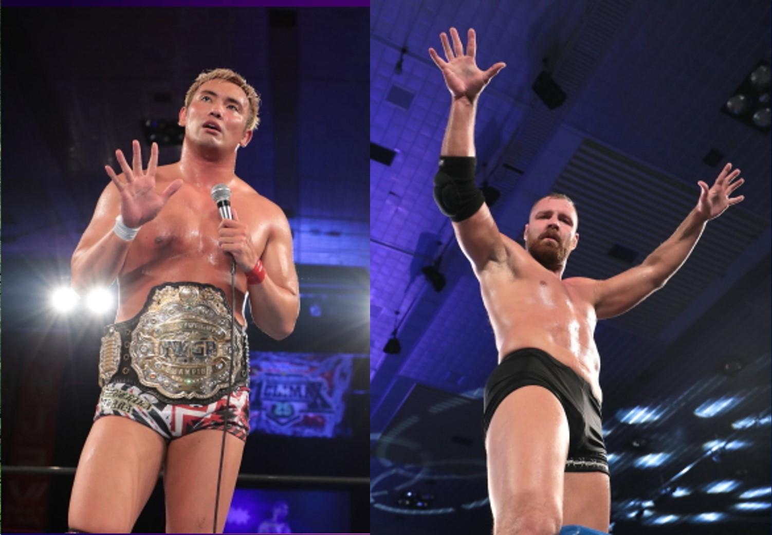 """NJPW: """"G1 Climax 29"""" Días 9 y 10 Okada y Moxley, imbatibles 20"""