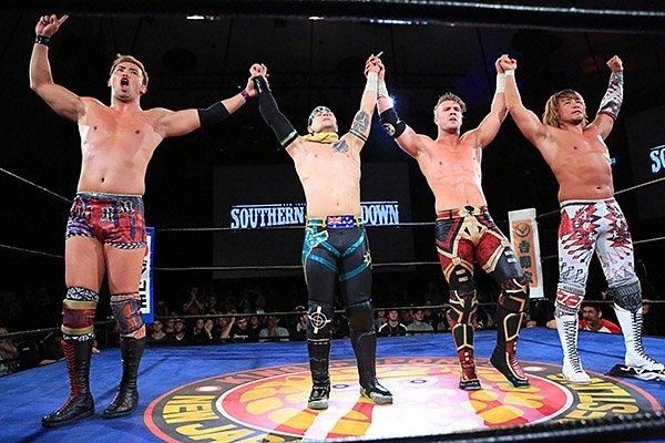 """NJPW: """"Southern Showdown"""" Tres títulos en juego 7"""