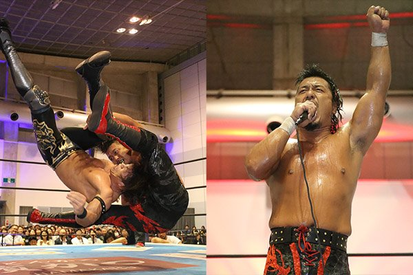 "NJPW: ""Best of the Super Jr. 26"" Día 13 Shingo Takagi 1er finalista 34"