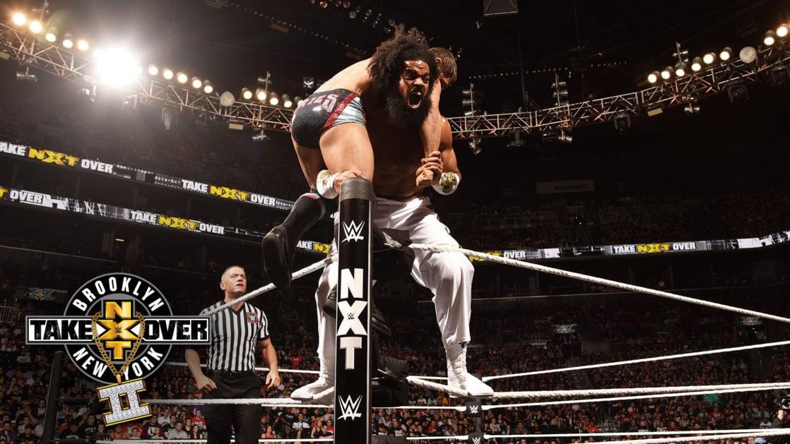 Los luchadores que participaron una sola vez en NXT TakeOver 7