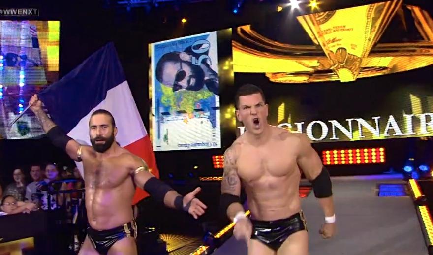 Los luchadores que participaron una sola vez en NXT TakeOver 4