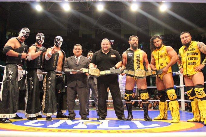 CMLL: En Puebla pierde melena King Jaguar, NGD retiene título 11