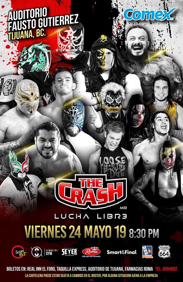 The Crash: Lucha Brothers vs. Rebelión Amarilla 1