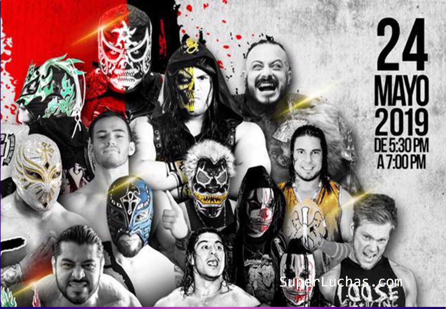 The Crash: Lucha Brothers vs. Rebelión Amarilla 11