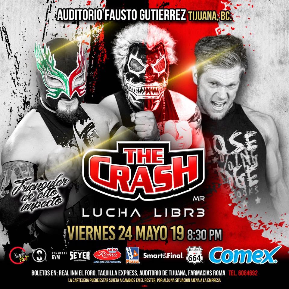 The Crash: Lucha Brothers vs. Rebelión Amarilla 2
