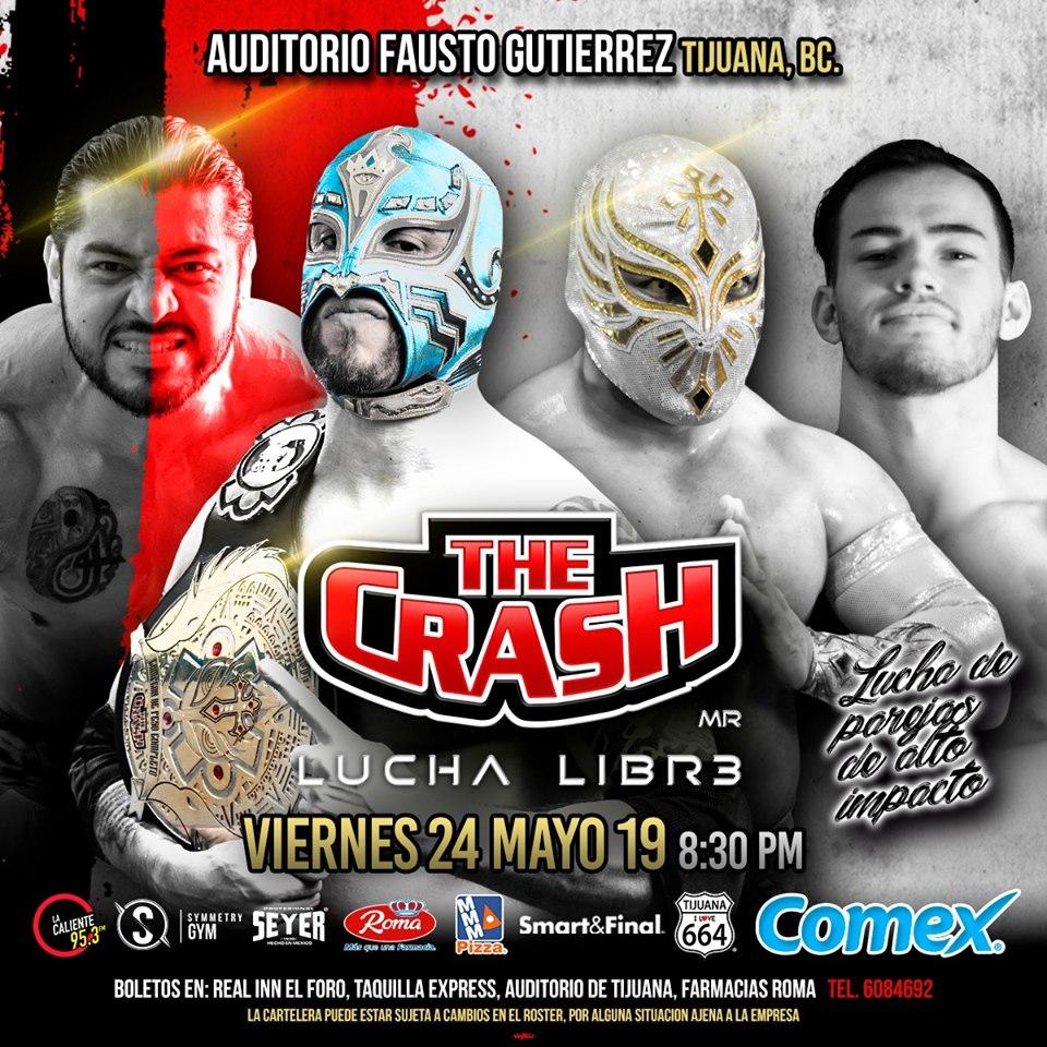 The Crash: Lucha Brothers vs. Rebelión Amarilla 4