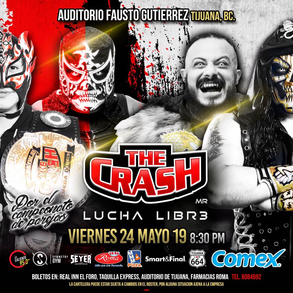 The Crash: Lucha Brothers vs. Rebelión Amarilla 5