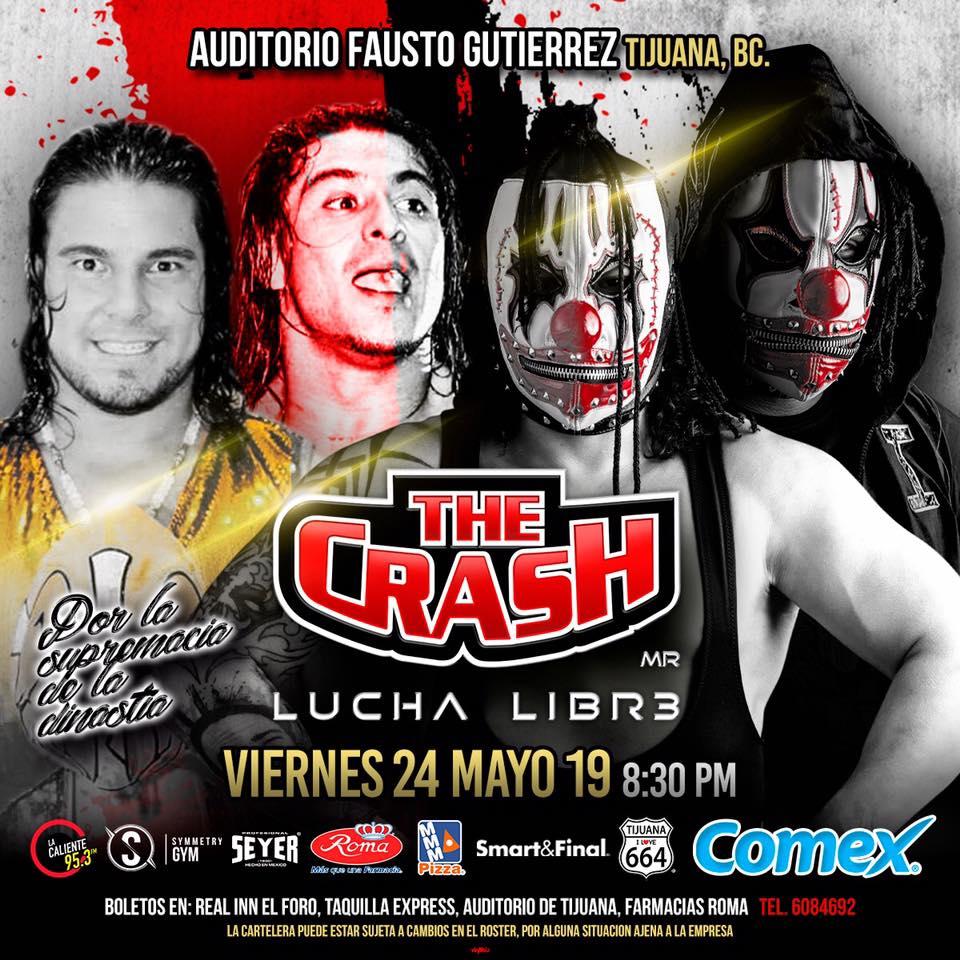 The Crash: Lucha Brothers vs. Rebelión Amarilla 3