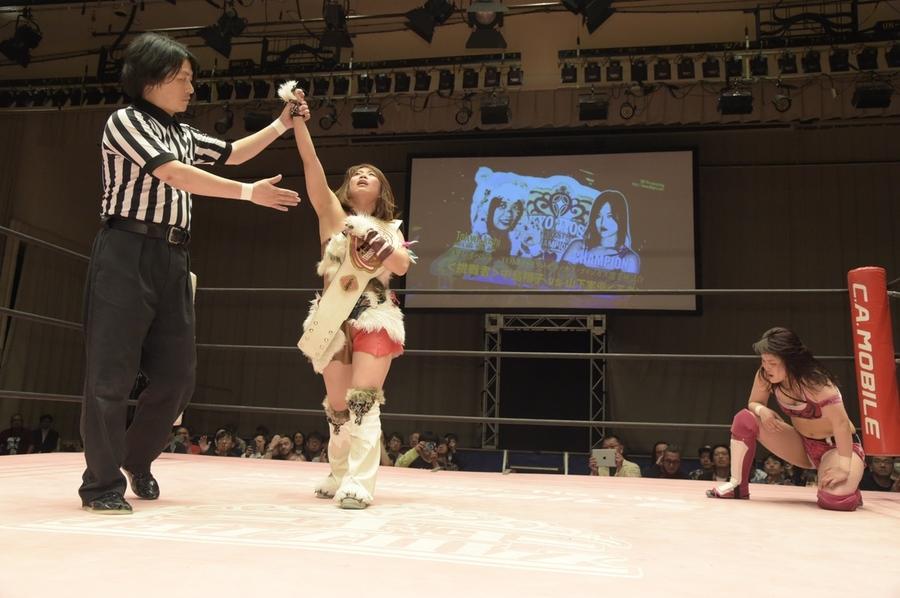 """TJP: """"Yes! Wonderland 2019"""" Termina reinado de Miyu Yamashita 2"""