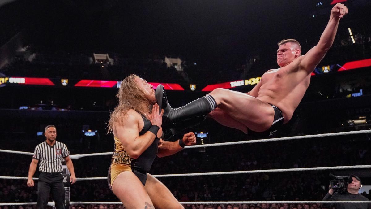 Los luchadores que participaron una sola vez en NXT TakeOver 11
