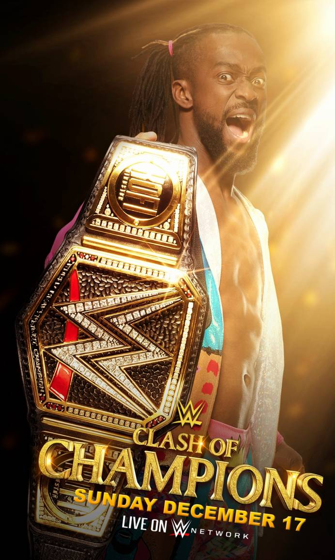 WWE Clash of Champions 2019 - Poster Fan-made
