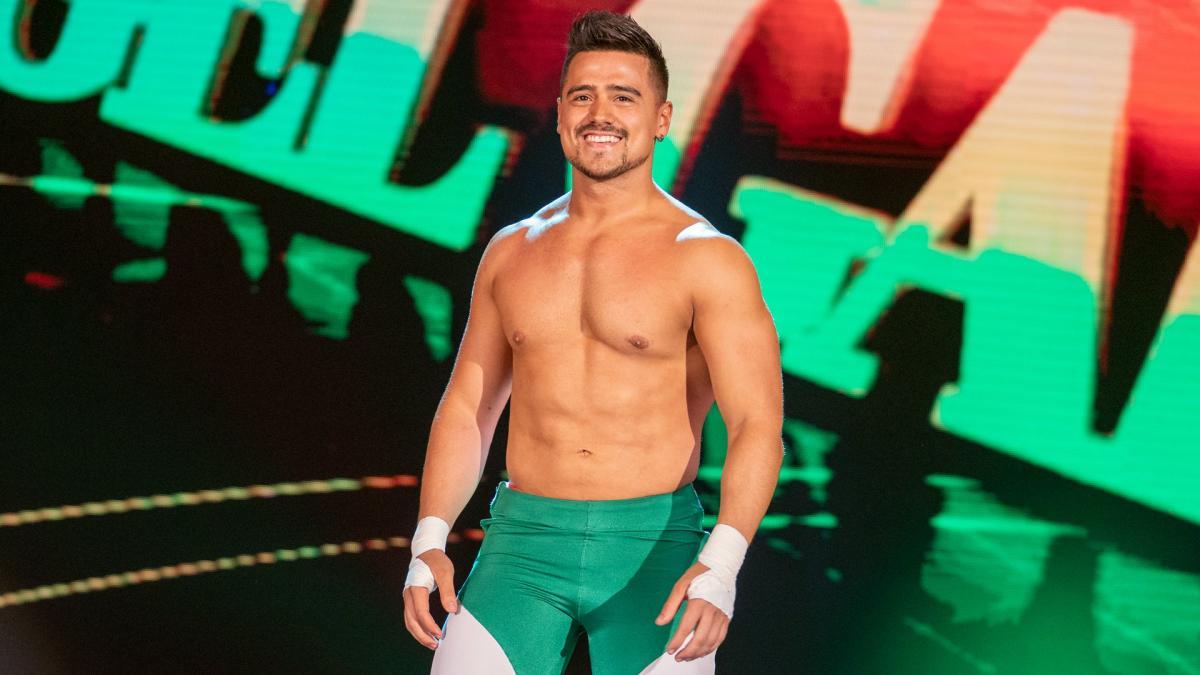 Ángel Garza se estrenará en el elenco principal de WWE 1
