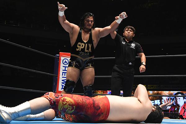 """NJPW: """"G1 Climax 29"""" Día 18 Jay White, segundo finalista 3"""