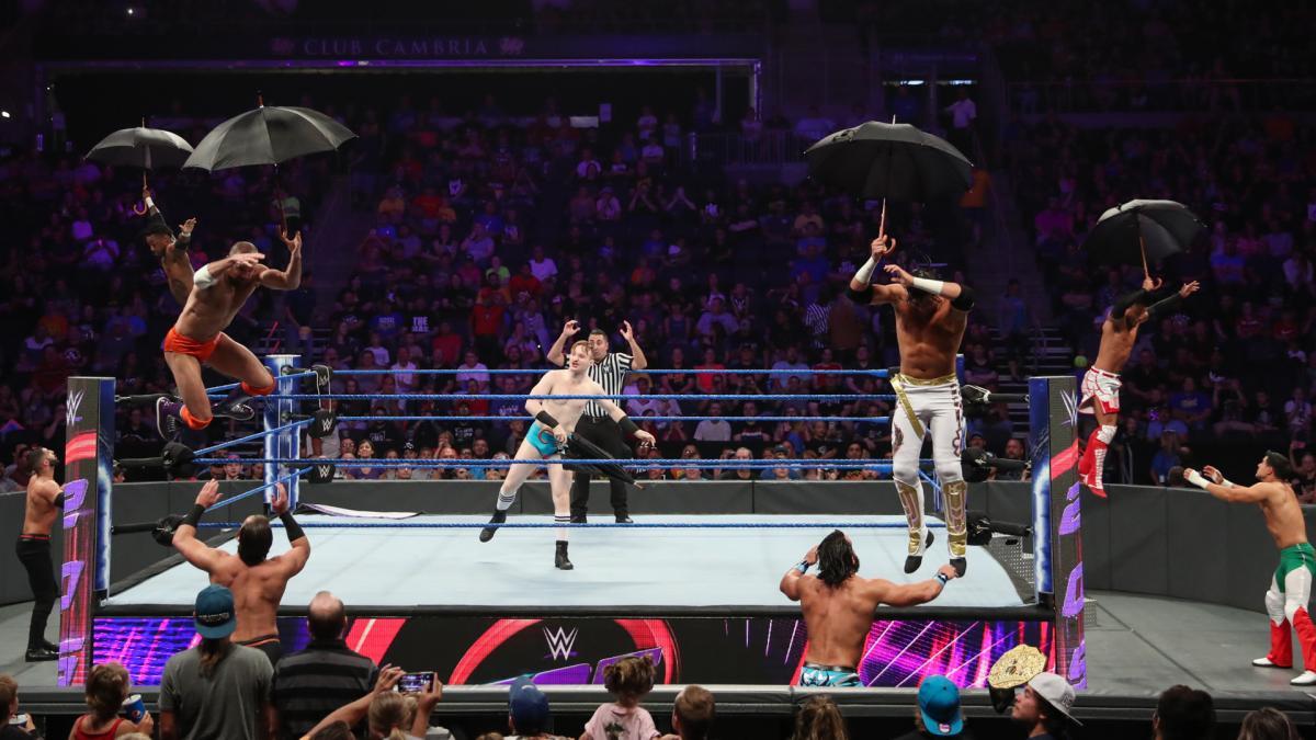 Resultados WWE 205 LIVE (20 de agosto 2019) | ¡Ángel Garza debuta! 3